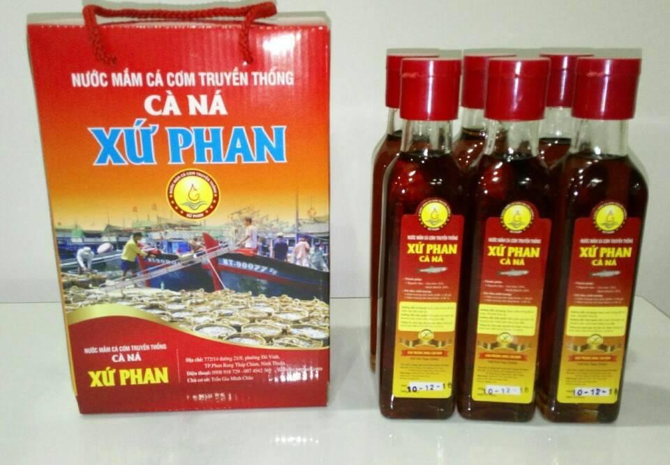 Nước mắm cá cơm Phan Rang