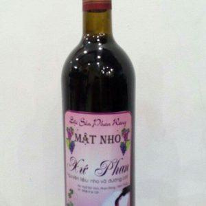 Rượu nho chay thủy tinh